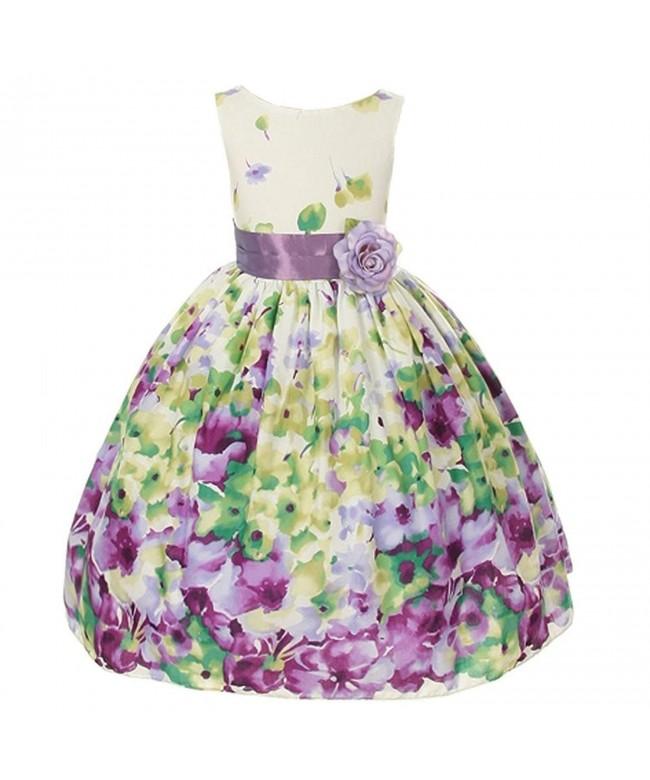 Kids Dream Lavender Flower Easter