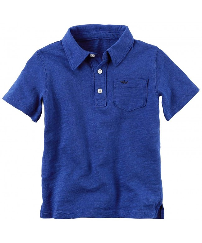 Carters Boys Solid Jersey Shirt