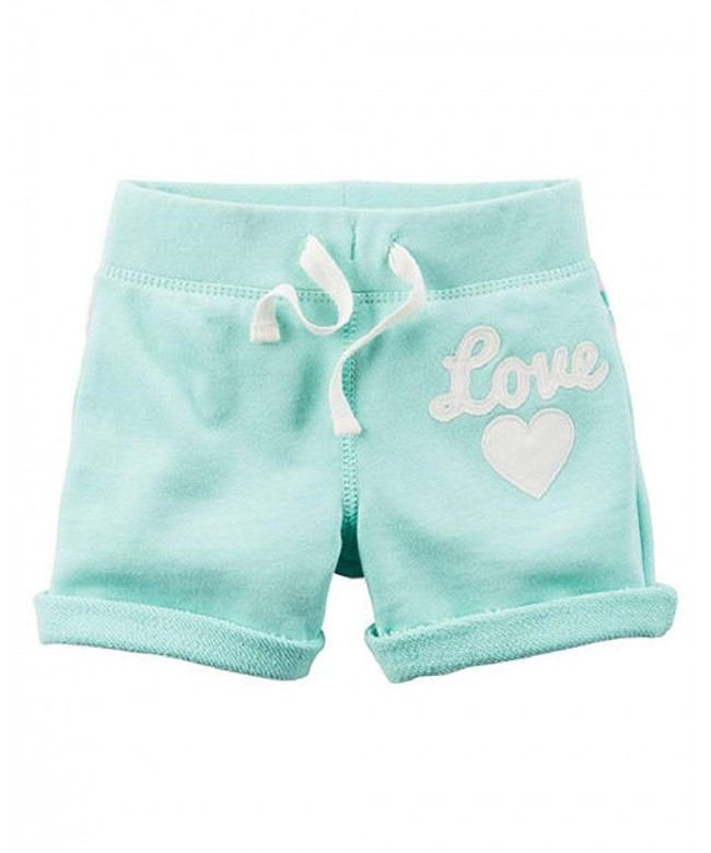 Carters Little Girls French Shorts