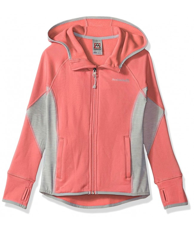 Avalanche Girls Full Hooded Jacket
