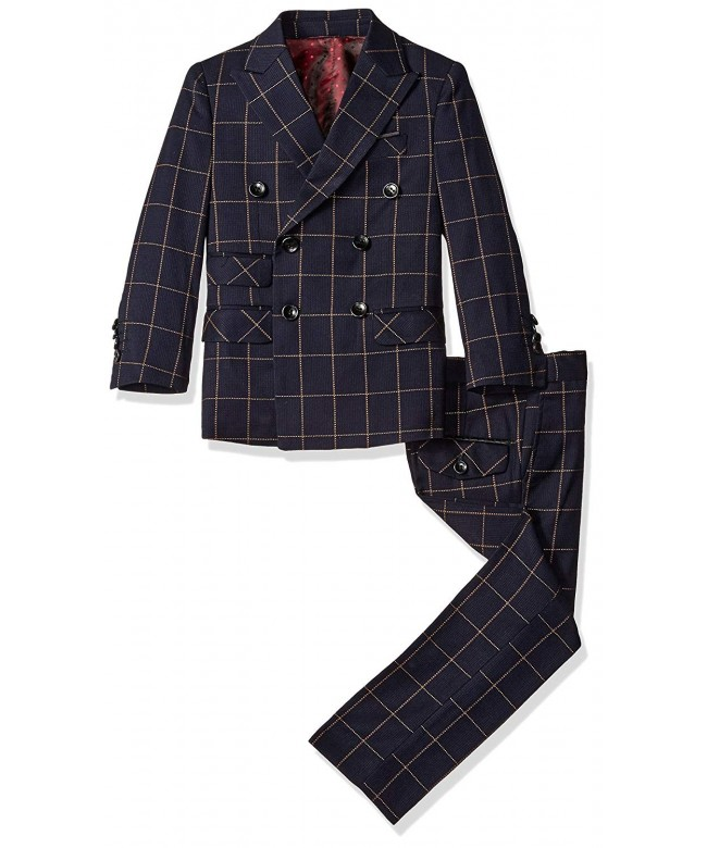 AXNY x n y Piece Double Breasted Windowpane