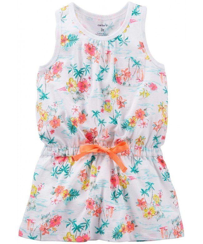 Carters Little Girls Print Toddler