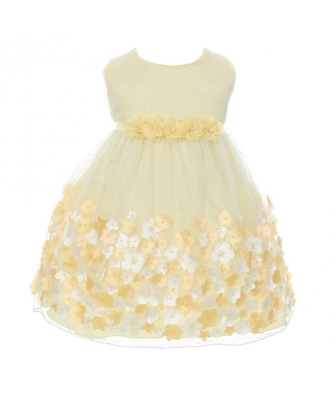 Kids Dream Taffeta Flowers Sleeveless