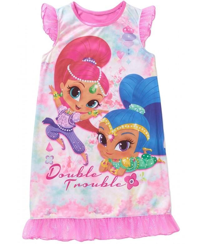Nickelodeon Shimmer Shine Girls Nightgown