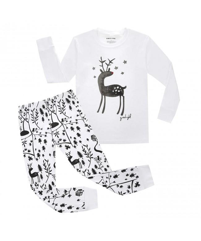 AMGLISE Christmas Pajamas Toddler Sleepwear