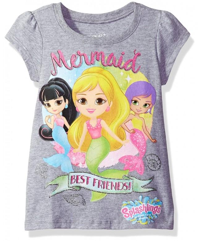 Splashlings Girls Little Graphic Shirt