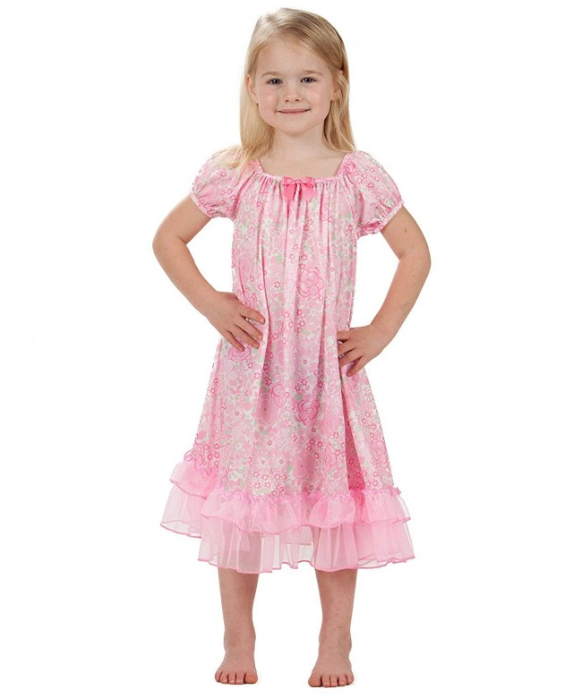 Laura Dare Blossoms Sleeve Nightgown
