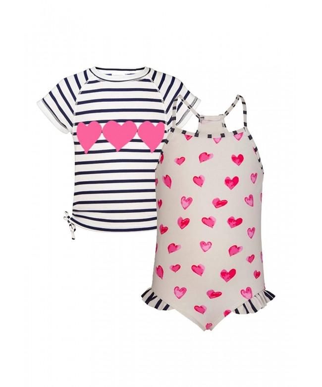 Snapper Rock Hearts Swimsuit Sleeve