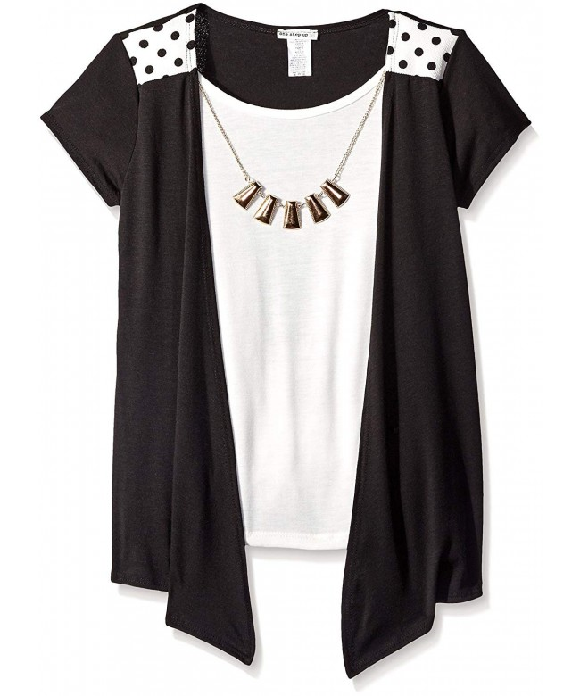 One Step Up Sleeve Necklace
