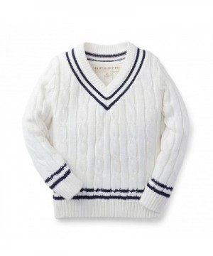 Hope Henry V Neck Sweater Organic