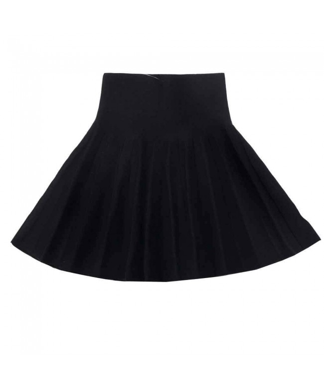 Gooket Little Knitted Flared Pleated