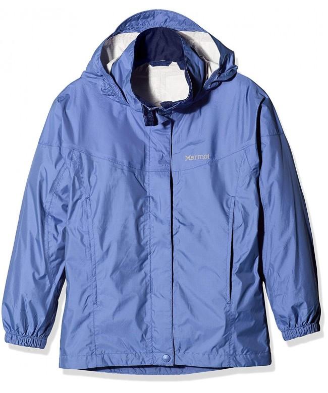 Marmot 55680 001 Girls Precip Jacket blk