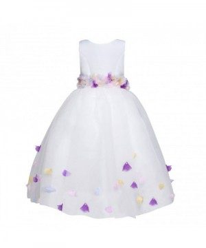 Amberry Little Girls Multicoloured Butterfly Applique Dress