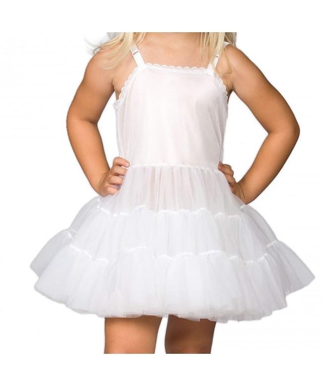 Collections Girls White Bouffant Petticoat