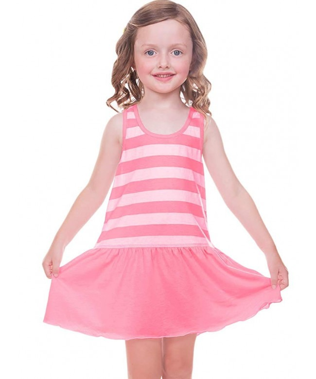 Kavio Little Girls Striped Jersey
