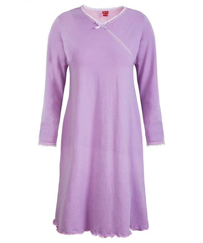 Girls Nightgown Purple Size 140 146