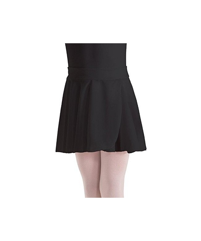 Motionwear Mock Waist Crepe Skirt