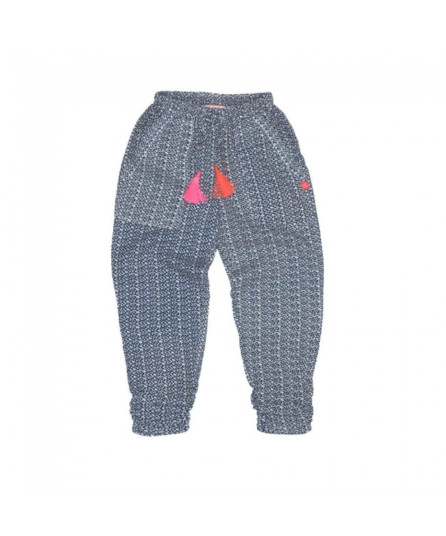 Mim Pi Little Girls Dotted Pants