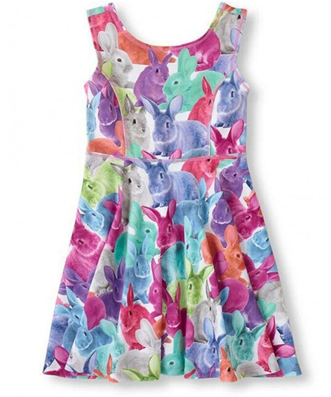Little Classical Printed Sleeveless Summer