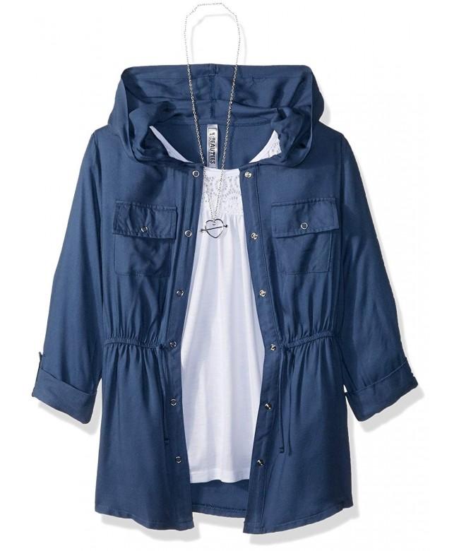 Beautees Girls Sleeve Jacket Solid