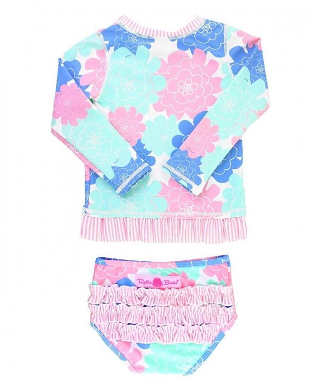 RuffleButts Little Girls 2 Piece Swimsuit