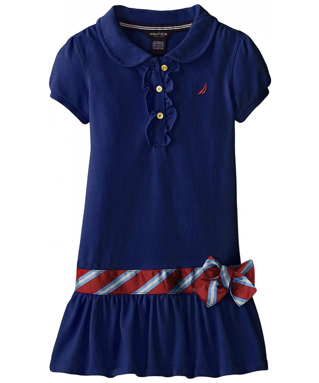 Nautica Girls Short Sleeve Dress