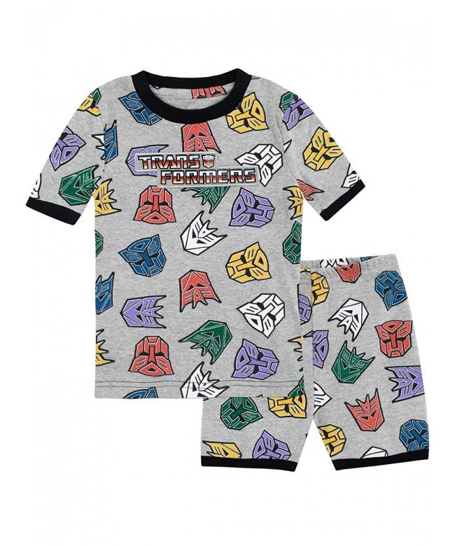 Transformers Boys Autobots Decepticons Pajamas