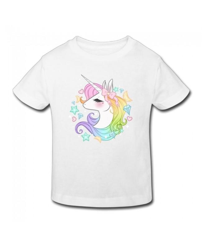 Waldeal Unicorns Toddler Sleeve Graphic
