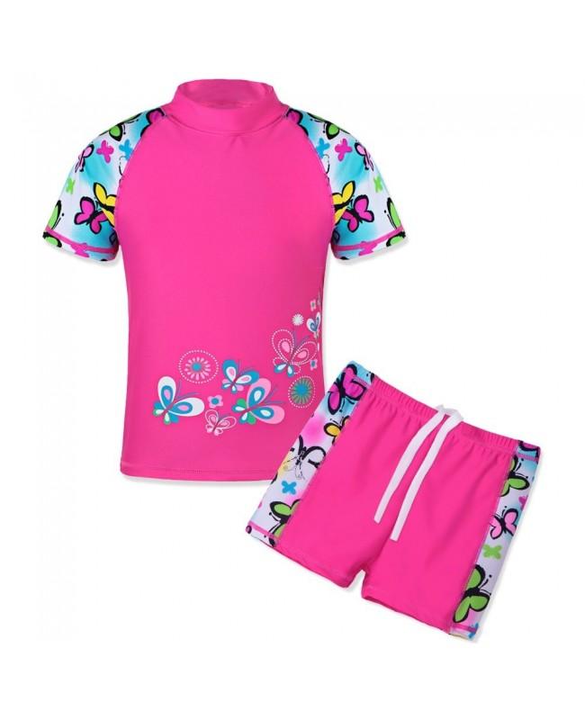 TFJH Girls Swimsuit Piece Swimwear