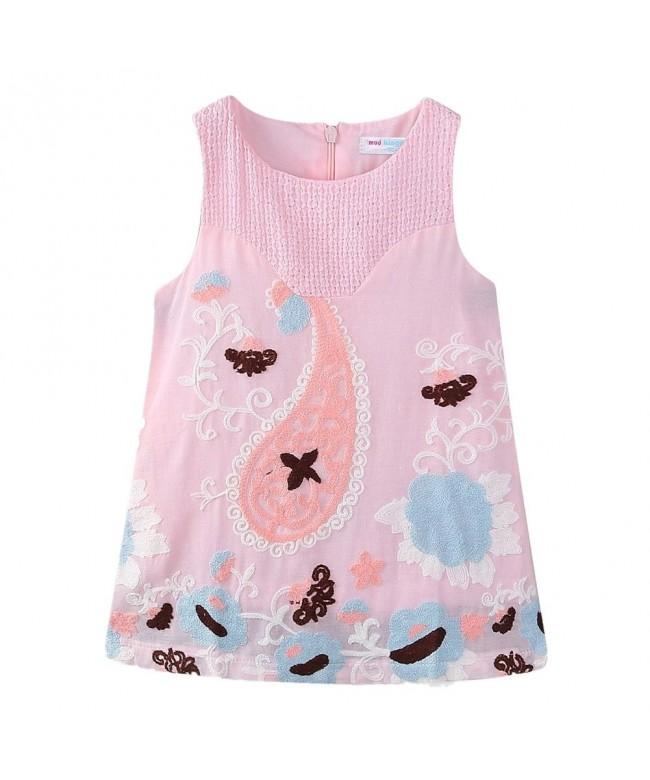 LittleSpring Little Sleeveless Summer Zipper