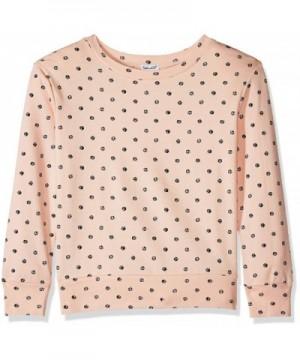 Splendid Girls Sleeve Print Sweatshirt