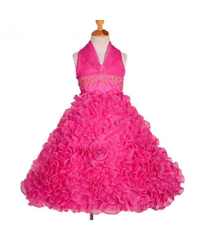 Dressy Daisy Embossed Dresses Pageant
