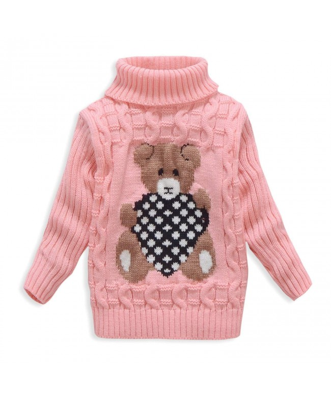 VIFUUR Turtleneck Sweater Girls Christmas