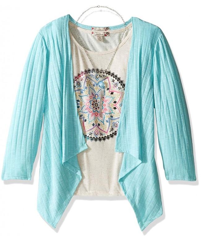 Speechless Girls Knit Piece Cozy
