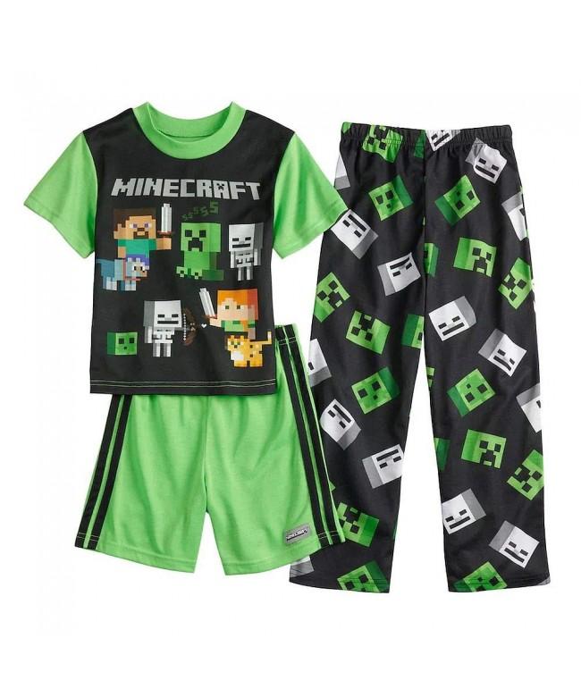 Minecraft Mojang Creeper 3 Piece Pajama