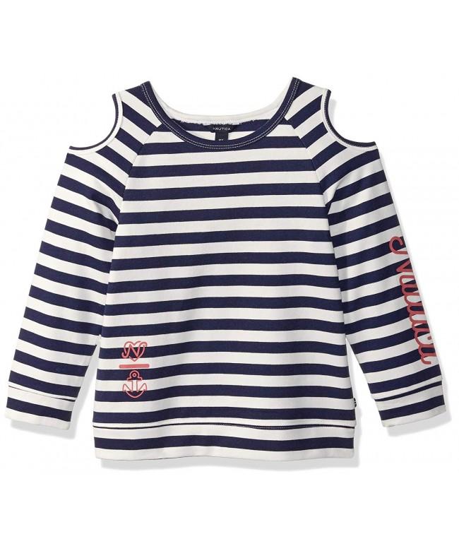 Nautica Girls Sleeve Fashion Sweaters