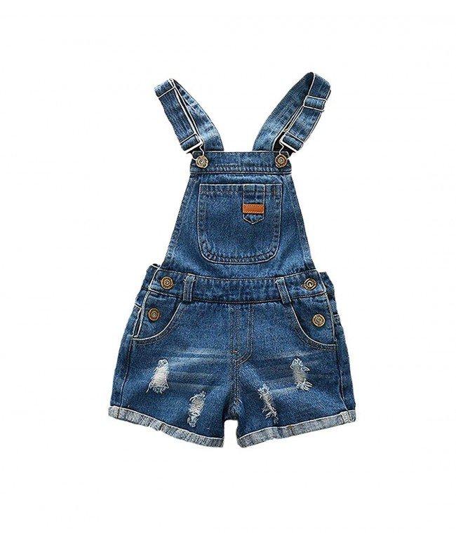 Kidscool Girls Ripped Summer Shortall