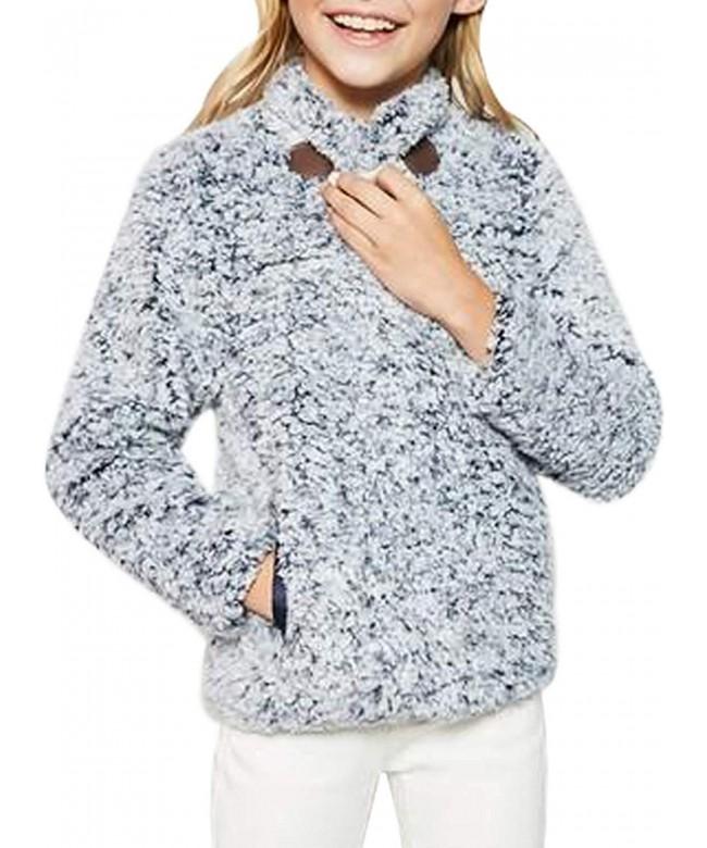 Azokoe Winter Fleece Windproof Pullover