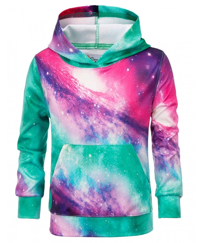 Danna Belle Printing Hoodies Pullover