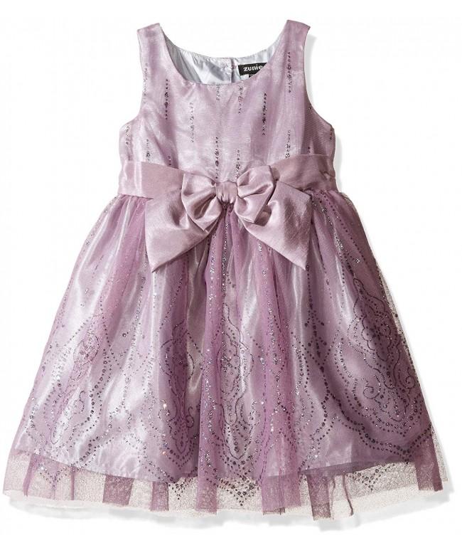 ZUNIE Girls Toddler Glitter Dress