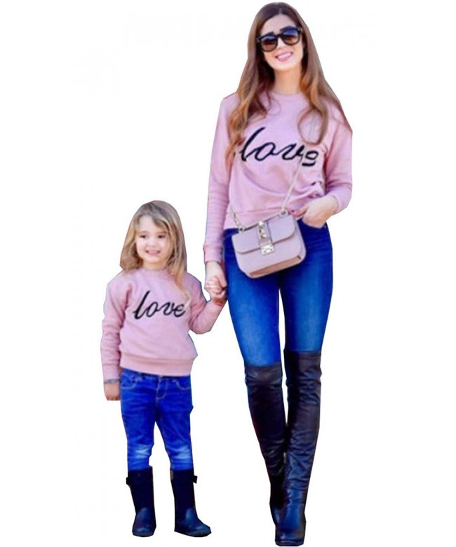 Family Matching Sweatshirt Pullover Clothes