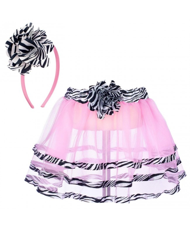 Princess Expressions Zebra Trim Skirt