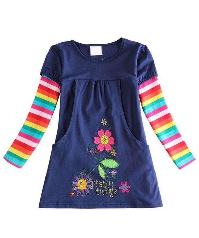 Laurelor Colorful Rainbow Flower Princess