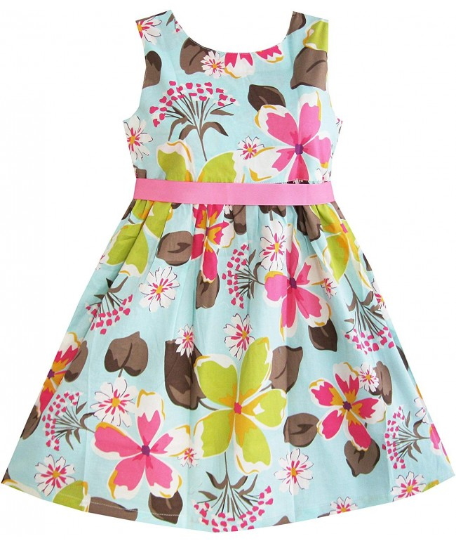 Sunny Fashion Girls Dress Flower