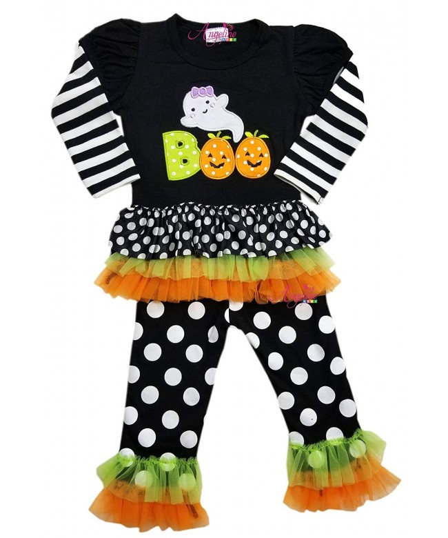 Boutique Clothing Halloween Ruffles Outfit