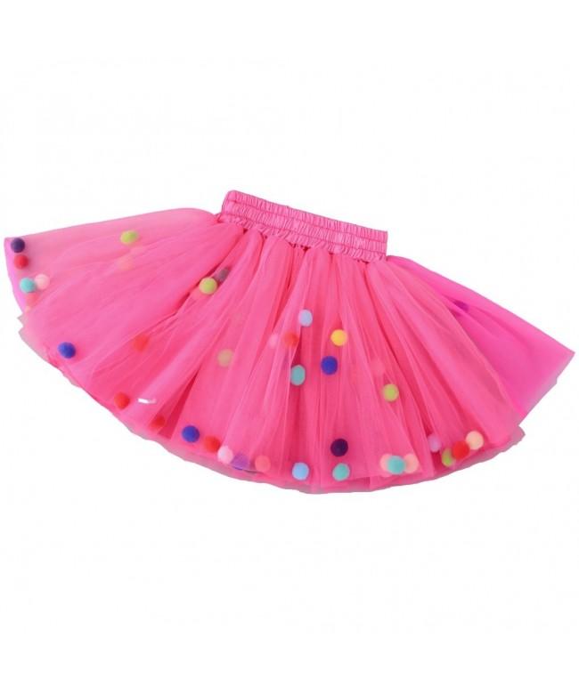YOLSUN Little Girls Skirt Layers