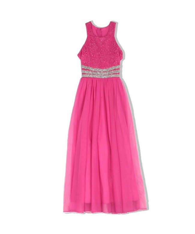 Speechless Girls Lace Chiffon Dress