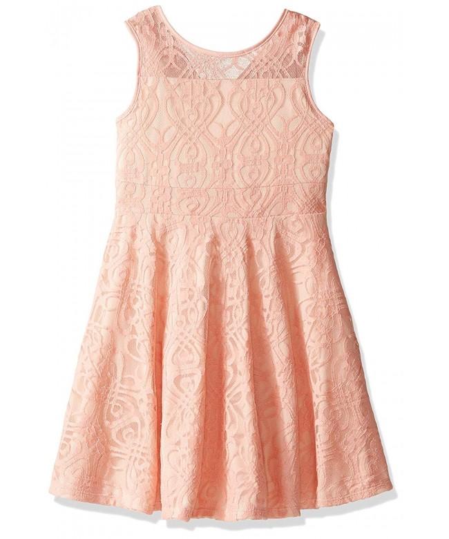 Marmellata Girls Tank Dress Overlay