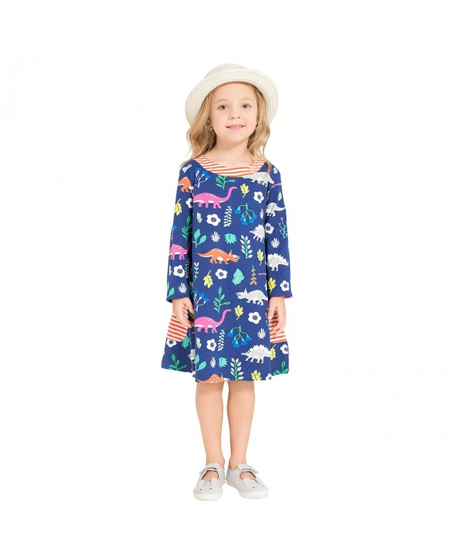 Zebra Fish Toddler Dresses Pockets