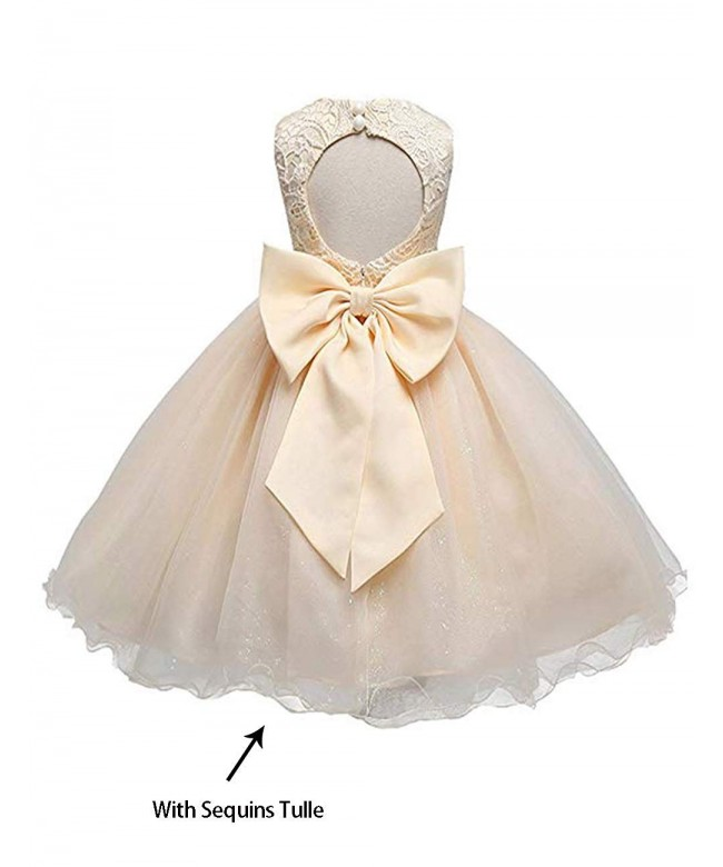 21KIDS Flower Bridesmaid Backless Wedding